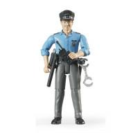 Фигурка Bruder полицейского с аксессуарами