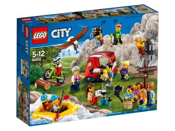 Конструктор LEGO City Любители активного отдыха