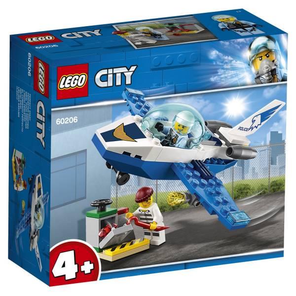 Конструктор LEGO City Police Воздушная полиция: патрульный самолёт