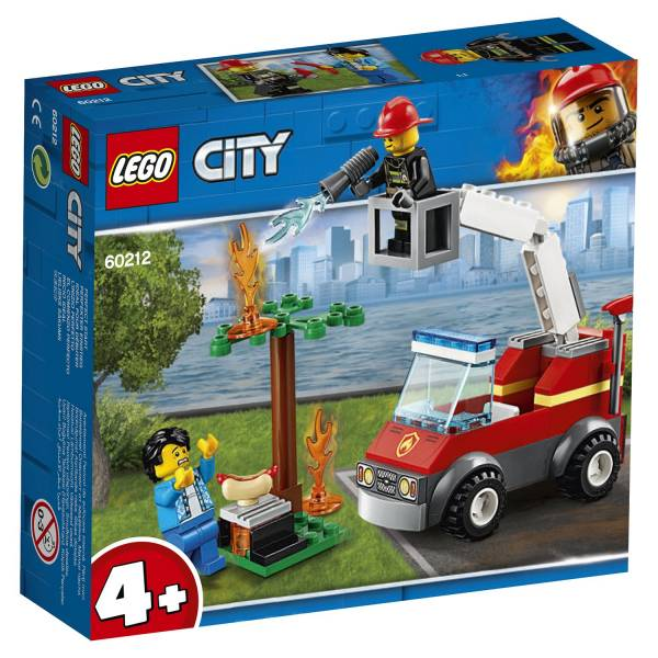 Конструктор LEGO City Fire Пожар на пикнике