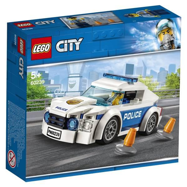 Конструктор LEGO City Police Автомобиль полицейского патруля