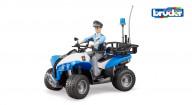 Полицейский квадроцикл с фигуркой  Bruder