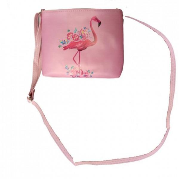 Сумочка Фламинго, 20*16см