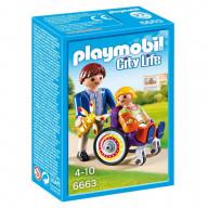 Конструктор Playmobil Детская клиника: Ребенок в коляске