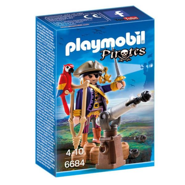 Конструктор Playmobil Пираты: Капитан пиратов
