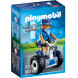 Конструктор Playmobil Полиция: Полицейский на балансирующей гоночной машине