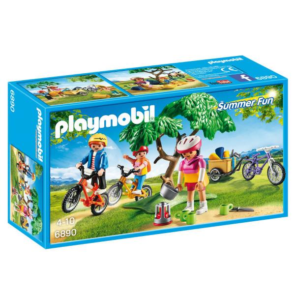 Конструктор Playmobil Летний лагерь: Велопрогулка