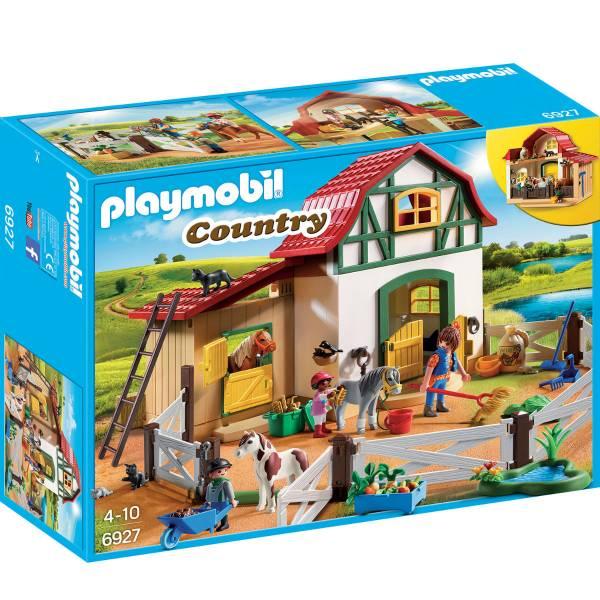 Конструктор Playmobil Ферма Пони: Ферма