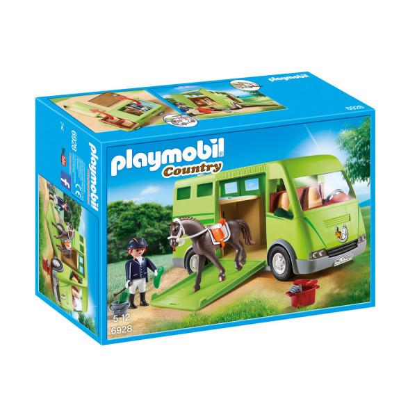 Конструктор Playmobil Ферма: Лошадиный бокс