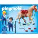 Конструктор Playmobil Конный клуб: Вольтижировка для прыжков