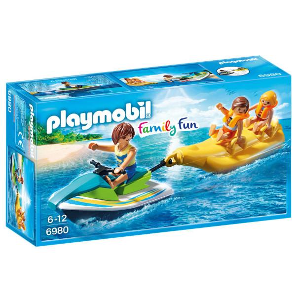 Конструктор Playmobil Круизный Лайнер: Гидроцикл с лодкой банан