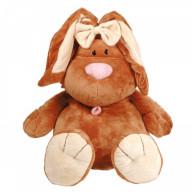 Мягкая игрушка Gulliver Кролик КОРИЧНЕВЫЙ сидячий, 23 cм