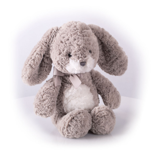 Мягкая игрушка Gulliver Заяц Мил серый, 23 см