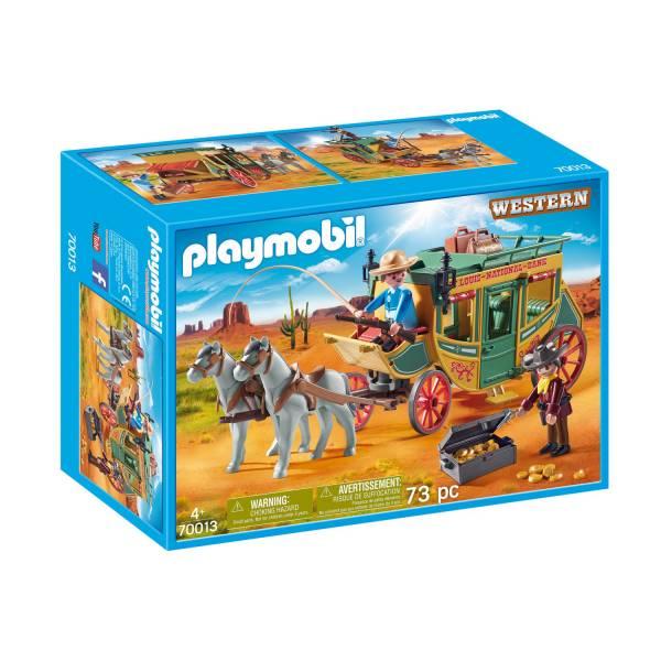 Конструктор Playmobil Промо: Ковбойский дилижанс
