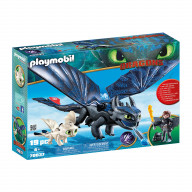 Конструктор Playmobil Драконы III: Иккинг и Беззубик