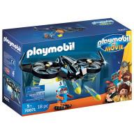 Конструктор Playmobil Фильм: Роботирон с дроном