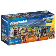 Конструктор Playmobil Фильм: Чарли с тюремной повозкой