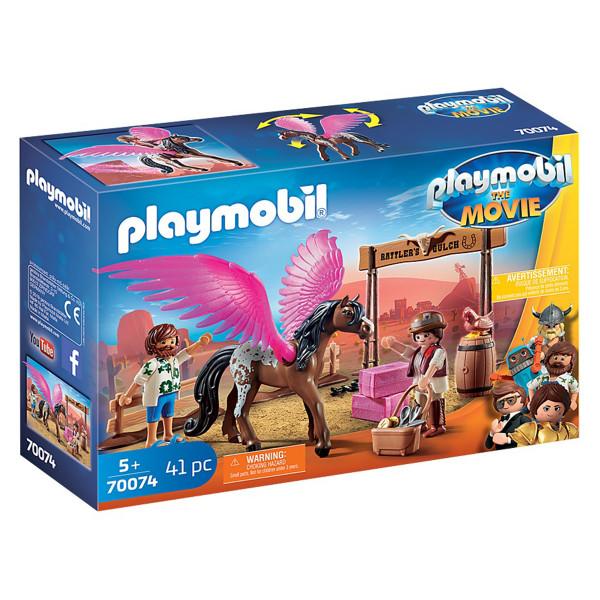 Конструктор Playmobil Фильм: Марла и Дел с Пегасом