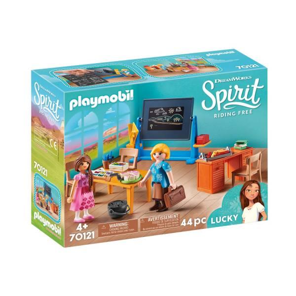 Конструктор Playmobil Spirit: Класс мисс Флорес