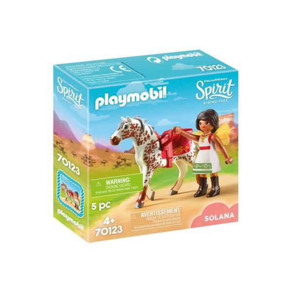 Конструктор Playmobil Spirit: Прыжки Соланы