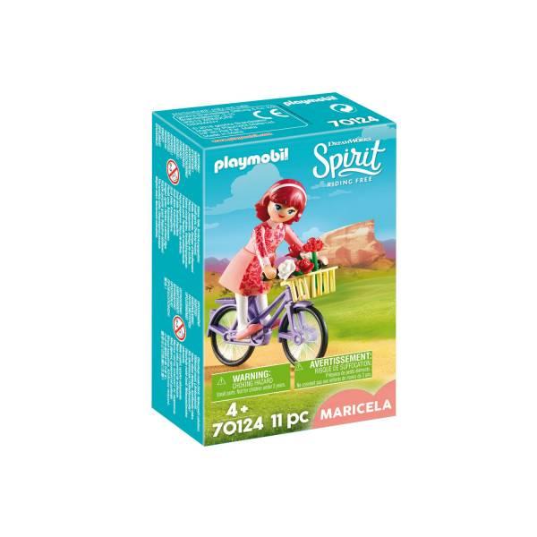Конструктор Playmobil Spirit: Марсела с велосипедом