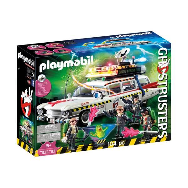 Конструктор Playmobil Охотники за привидениями: Ghostbusters™ Экто-1А