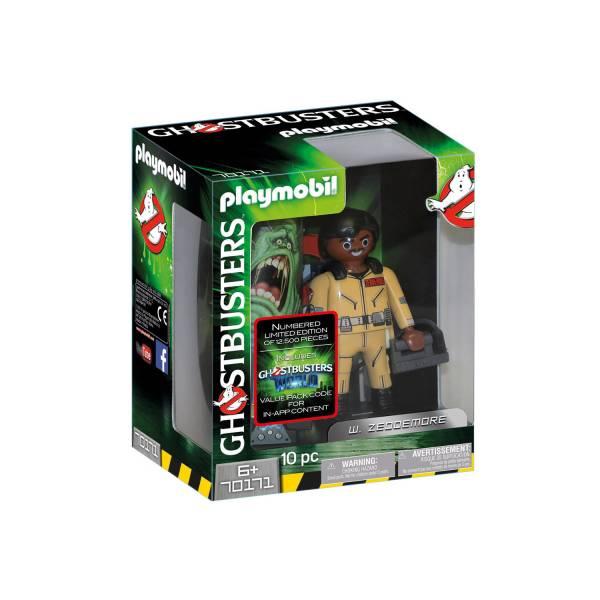 Конструктор Playmobil Охотники за привидениями: Ghostbusters™ Коллекционная фигура У. Зеддмор