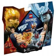 Конструктор LEGO Ninjago Бой мастеров кружитцу — Кай против Самурая