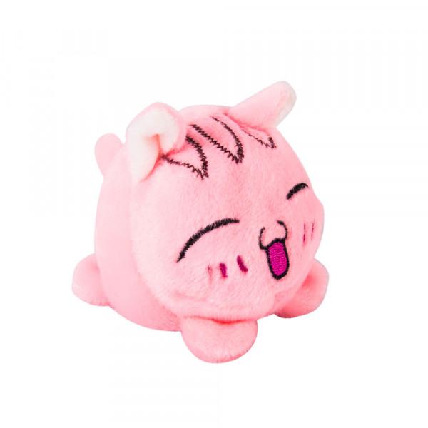 """Мягкая игрушка """"Button Blue"""", Мячик - Кот розовый, 7 см"""
