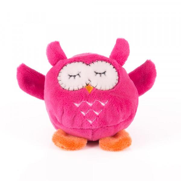 """Мягкая игрушка """"Button Blue"""", Мячик - Розовая сова, 7 см"""