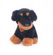 """Мягкая игрушка """"Button Blue"""", Собачка  Ротвейлер, 20 см."""