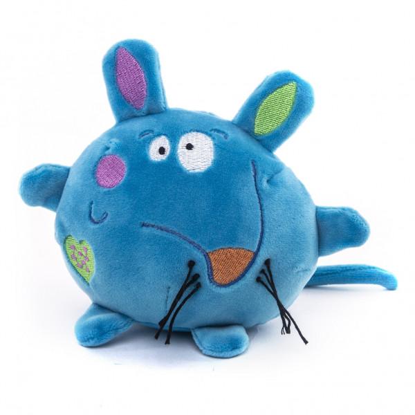 """Мягкая игрушка """"Button Blue"""", Мышка синяя  10 см"""