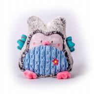 Мягкая игрушка Gulliver Совушка серо-голубая, 17 см