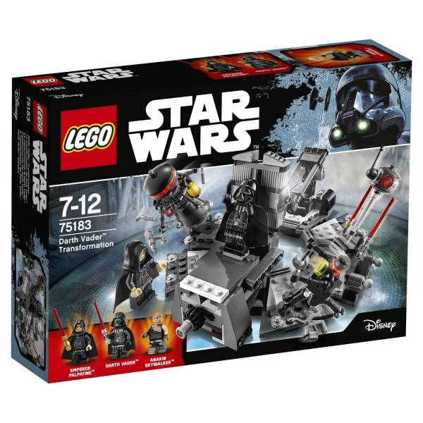 "Конструктор LEGO STAR WARS ""Превращение в Дарта Вейдера"""