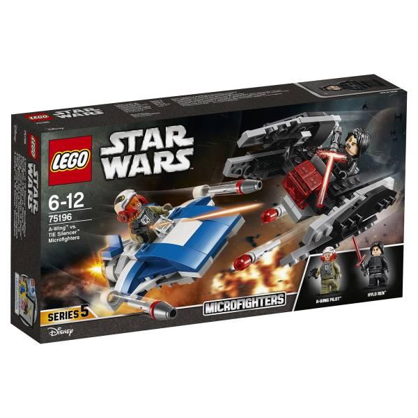 """Конструктор LEGO STAR WARS """"Истребитель типа A против бесшумного истребителя"""""""