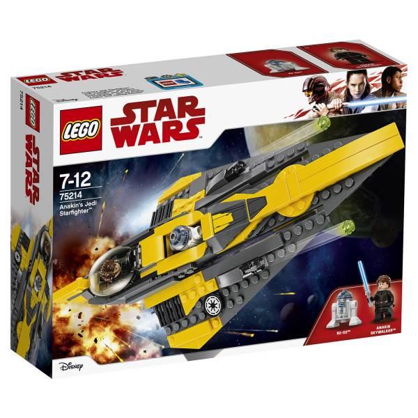 """Конструктор LEGO STAR WARS """"Звёздный истребитель Энакина"""""""