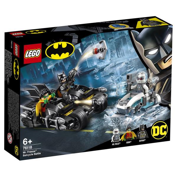 Конструктор LEGO Super Heroes Гонка на мотоциклах с Мистером Фризом