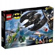 Конструктор LEGO Super Heroes Бэткрыло Бэтмена и ограбление Загадочника