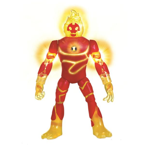 Ben10 Фигурка 16 см (свет, звук), Человек-огонь