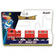 Паровозик Robot Trains с двумя вагонами Альф