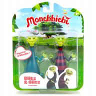Фигурки из Мончичи: Блиц и Глиц 2 в 1 - 7,5 см