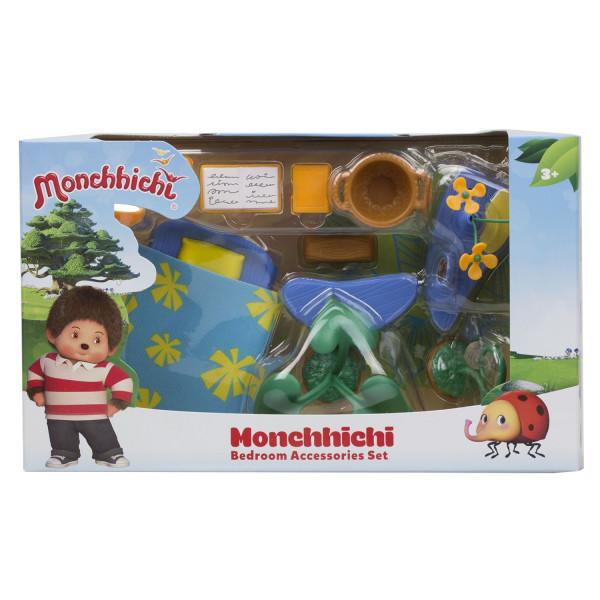 Набор аксессуаров для спальной комнаты Monchhichi (с зеленым ковром)