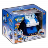 Робот-трансформер Robocar Poli Поли на радиоуправлении . Управляется в форме робота и машины