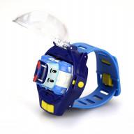 Часы с мини машинкой на ДУ Robocar Poli
