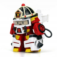 Рой трансформер Robocar Poli 10 см + костюм астронавта