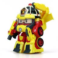 Рой трансформер Robocar Poli 10 см + костюм супер пожарного