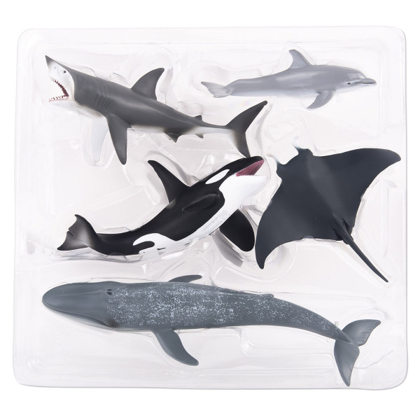 Набор морских обитателей Collecta, 5 фигурок