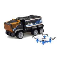 Миссия Дронов (грузовик+квадрокоптер)