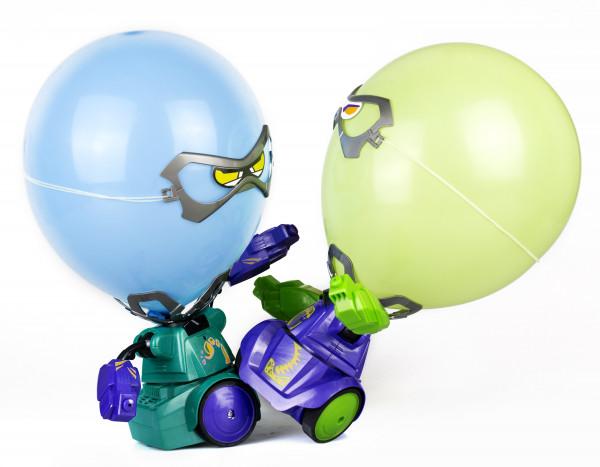 Боевые роботы Робокомбат Шарики (Фиолетовый,Зеленый)