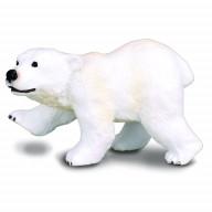 Фигурка Collecta Медвежонок полярного медведя(стоящий),(блист.), S